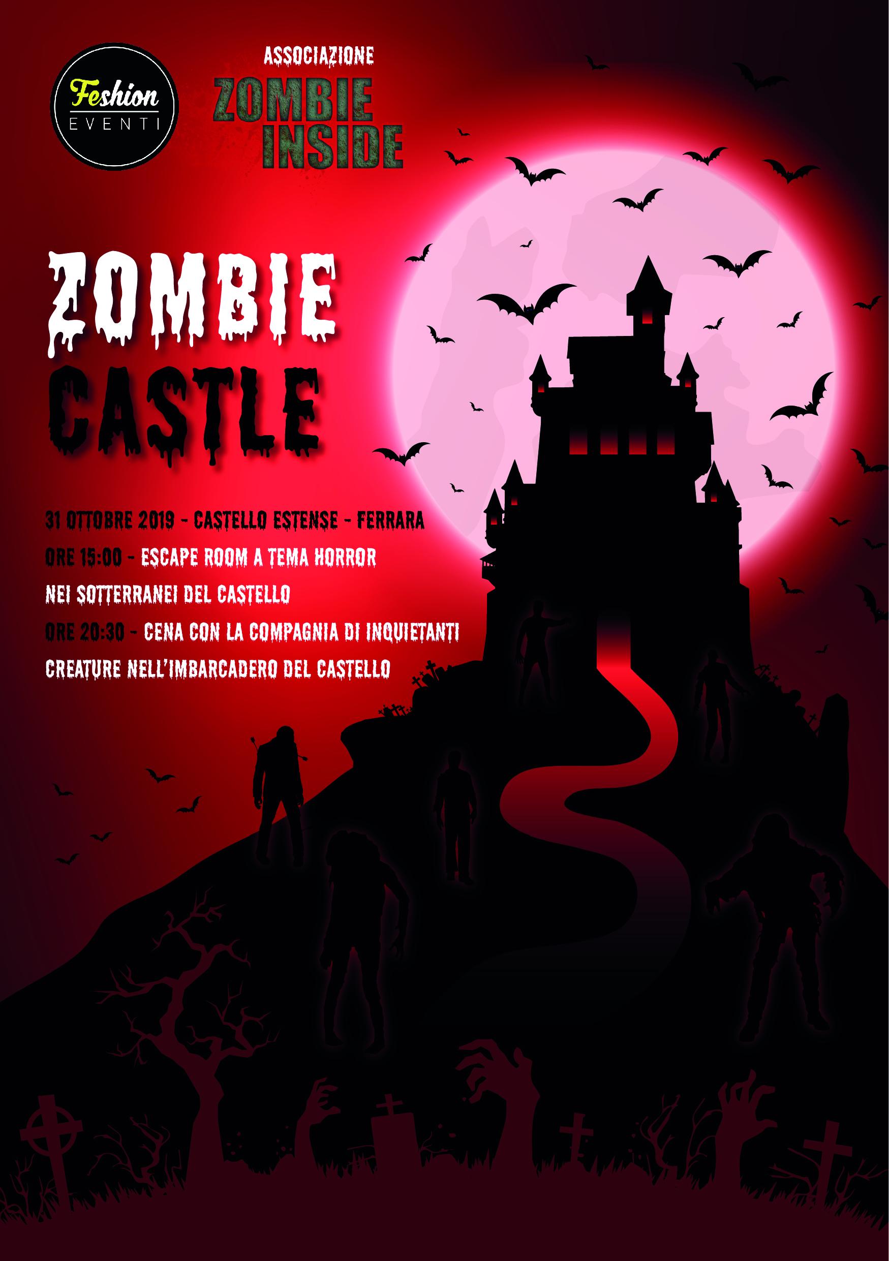 Letto A Castello A Ferrara.Zombie Castle Halloween Al Castello Estense Feshion